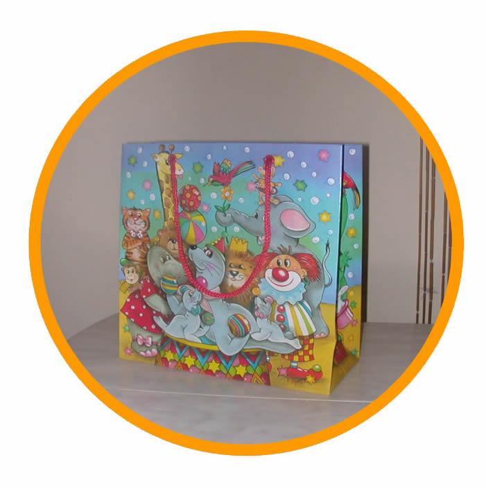 Kağıt Çok Renkli Poşet 014