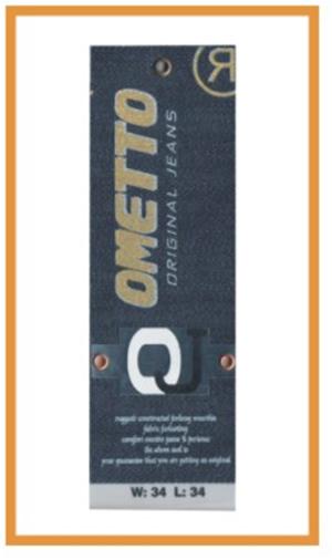 Metalize İlaveli Etiket 010