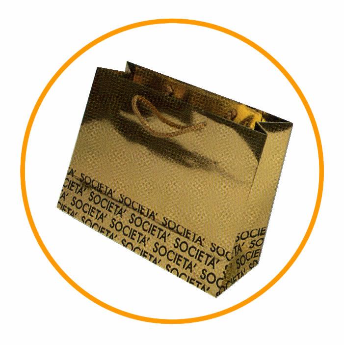 Metalize Kaplama Kağıt Poşet 003